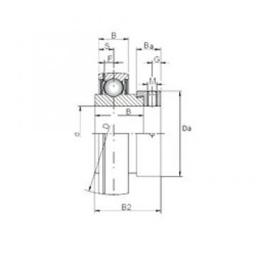 50 mm x 90 mm x 30,2 mm  ISO SA210 deep groove ball bearings