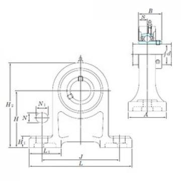 KOYO UCPH209-27 bearing units