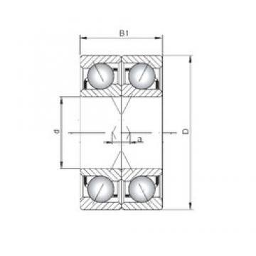 ISO 7005 ADF angular contact ball bearings
