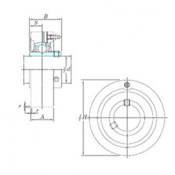KOYO UCCX05 bearing units