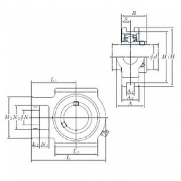 KOYO UCTX05 bearing units