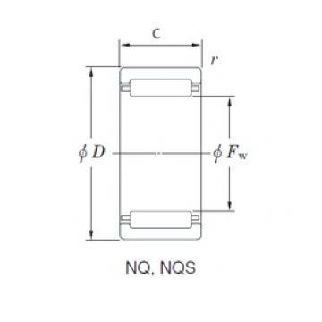 KOYO NQ29/20 needle roller bearings