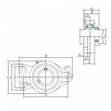 KOYO UCFA207-23 bearing units