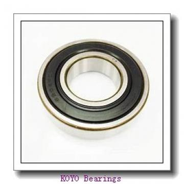 5 mm x 8 mm x 2 mm  KOYO ML5008 deep groove ball bearings