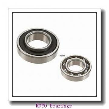 4 mm x 9 mm x 2,5 mm  KOYO F684 deep groove ball bearings