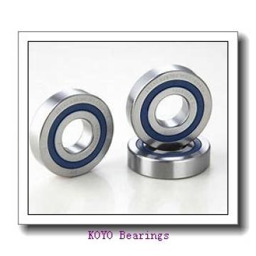 360 mm x 480 mm x 76 mm  KOYO 32972JR tapered roller bearings