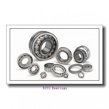 40 mm x 85 mm x 49,2 mm  KOYO UCX08 deep groove ball bearings