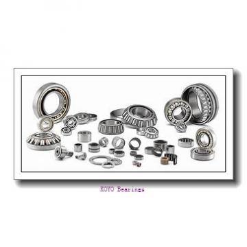 38,1 mm x 47,625 mm x 4,762 mm  KOYO KTX015 angular contact ball bearings