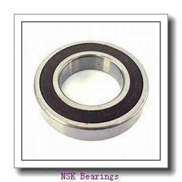 90 mm x 160 mm x 30 mm  NSK 6218VV deep groove ball bearings