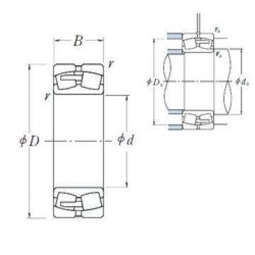 710 mm x 950 mm x 180 mm  NSK 239/710CAE4 spherical roller bearings