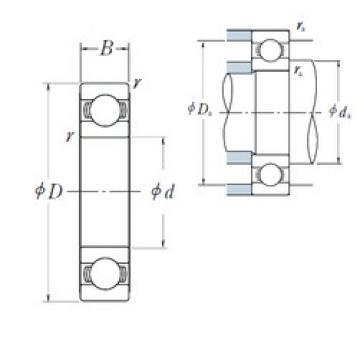 200 mm x 420 mm x 80 mm  NSK 6340 deep groove ball bearings
