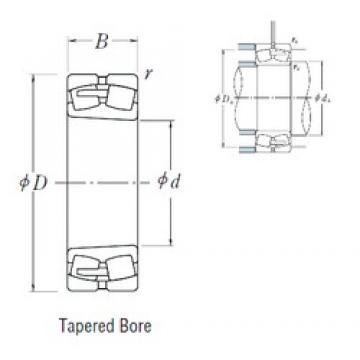 420 mm x 700 mm x 280 mm  NSK 24184CAK30E4 spherical roller bearings